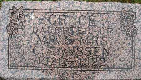 JANSSEN, GRACE - Minnehaha County, South Dakota | GRACE JANSSEN - South Dakota Gravestone Photos