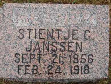 JANSSEN, STIENTJE G - Minnehaha County, South Dakota | STIENTJE G JANSSEN - South Dakota Gravestone Photos