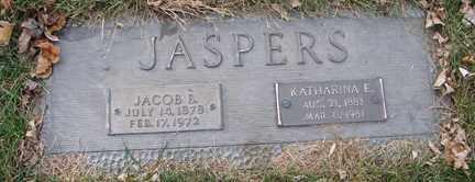 JASPERS, KATHARINA E. - Minnehaha County, South Dakota | KATHARINA E. JASPERS - South Dakota Gravestone Photos