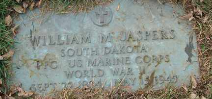 JASPERS, WILLIAM M. (WWII) - Minnehaha County, South Dakota | WILLIAM M. (WWII) JASPERS - South Dakota Gravestone Photos
