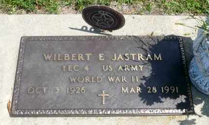 JASTRAM, WILBERT E. (WWII) - Minnehaha County, South Dakota | WILBERT E. (WWII) JASTRAM - South Dakota Gravestone Photos