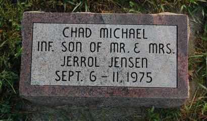 JENSEN, CHAD MICHAEL - Minnehaha County, South Dakota | CHAD MICHAEL JENSEN - South Dakota Gravestone Photos