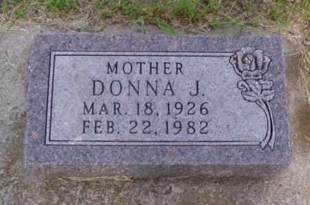 JENSEN, DONNA J. - Minnehaha County, South Dakota | DONNA J. JENSEN - South Dakota Gravestone Photos