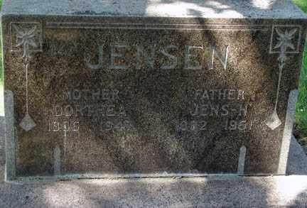 JENSEN, JENS H. - Minnehaha County, South Dakota   JENS H. JENSEN - South Dakota Gravestone Photos