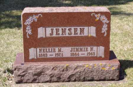 JENSEN, JIMMIE N. - Minnehaha County, South Dakota | JIMMIE N. JENSEN - South Dakota Gravestone Photos