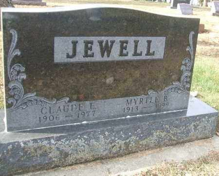 JEWELL, MYRTLE B. - Minnehaha County, South Dakota   MYRTLE B. JEWELL - South Dakota Gravestone Photos