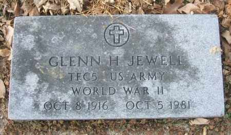 JEWELL, GLENN H. (WWII) - Minnehaha County, South Dakota | GLENN H. (WWII) JEWELL - South Dakota Gravestone Photos