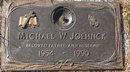 JOEHNCK, MICHAEL W. - Minnehaha County, South Dakota | MICHAEL W. JOEHNCK - South Dakota Gravestone Photos