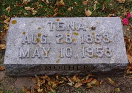 JOHANSON, TENA - Minnehaha County, South Dakota | TENA JOHANSON - South Dakota Gravestone Photos