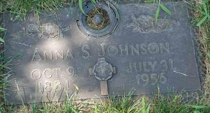 JOHNSON, ANNA SERENA - Minnehaha County, South Dakota | ANNA SERENA JOHNSON - South Dakota Gravestone Photos