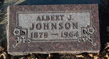 JOHNSON, ALBERT J. - Minnehaha County, South Dakota | ALBERT J. JOHNSON - South Dakota Gravestone Photos