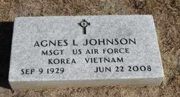 JOHNSON, AGNES L. (KOREA - VIETNAM) - Minnehaha County, South Dakota | AGNES L. (KOREA - VIETNAM) JOHNSON - South Dakota Gravestone Photos