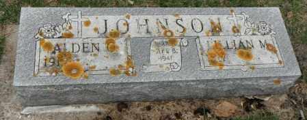 JOHNSON, LILLIAN M. - Minnehaha County, South Dakota | LILLIAN M. JOHNSON - South Dakota Gravestone Photos