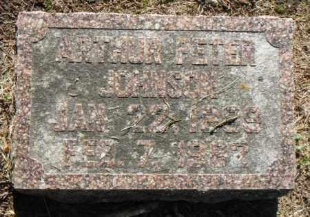JOHNSON, ARTHUR PETER - Minnehaha County, South Dakota | ARTHUR PETER JOHNSON - South Dakota Gravestone Photos