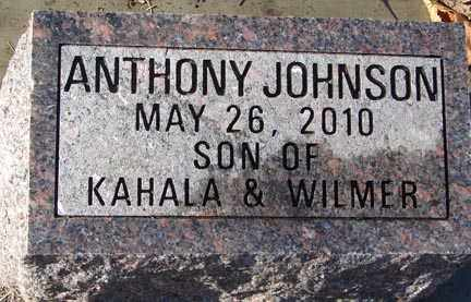 JOHNSON, ANTHONY - Minnehaha County, South Dakota | ANTHONY JOHNSON - South Dakota Gravestone Photos