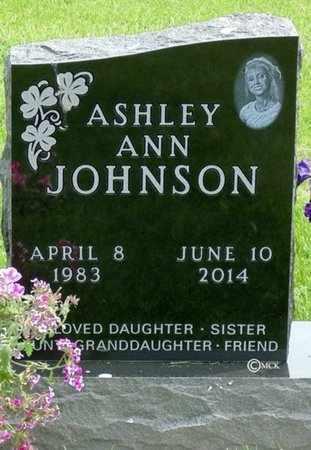 JOHNSON, ASHLEY ANN - Minnehaha County, South Dakota | ASHLEY ANN JOHNSON - South Dakota Gravestone Photos