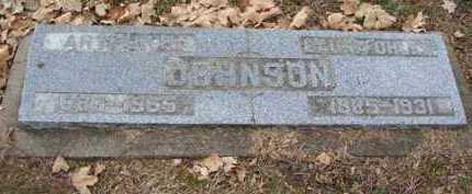 JOHNSON, ARTHUR - Minnehaha County, South Dakota | ARTHUR JOHNSON - South Dakota Gravestone Photos