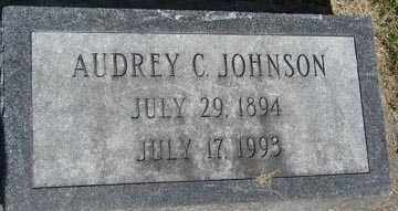 JOHNSON, AUDREY C. - Minnehaha County, South Dakota | AUDREY C. JOHNSON - South Dakota Gravestone Photos