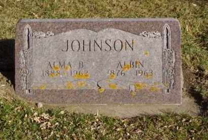JOHNSON, ALMA B. - Minnehaha County, South Dakota | ALMA B. JOHNSON - South Dakota Gravestone Photos