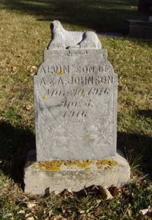 JOHNSON, ALVIN - Minnehaha County, South Dakota | ALVIN JOHNSON - South Dakota Gravestone Photos