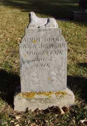 JOHNSON, ALVIN - Minnehaha County, South Dakota   ALVIN JOHNSON - South Dakota Gravestone Photos