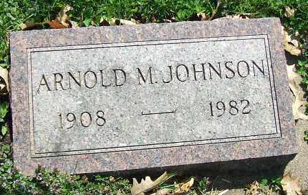 JOHNSON, ARNOLD M. - Minnehaha County, South Dakota | ARNOLD M. JOHNSON - South Dakota Gravestone Photos