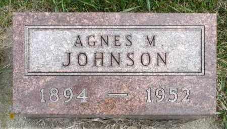 JOHNSON, AGNES M. - Minnehaha County, South Dakota | AGNES M. JOHNSON - South Dakota Gravestone Photos