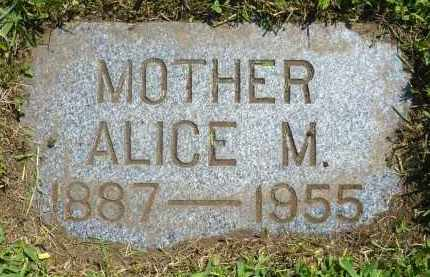 JOHNSON, ALICE M. - Minnehaha County, South Dakota | ALICE M. JOHNSON - South Dakota Gravestone Photos