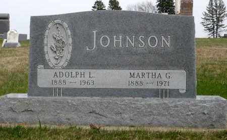 JOHNSON, MARTHA GEORGINA - Minnehaha County, South Dakota | MARTHA GEORGINA JOHNSON - South Dakota Gravestone Photos