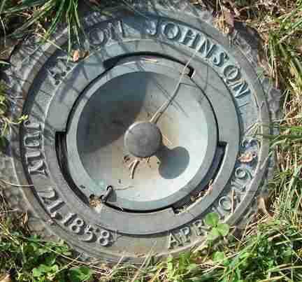 JOHNSON, ANTON - Minnehaha County, South Dakota   ANTON JOHNSON - South Dakota Gravestone Photos