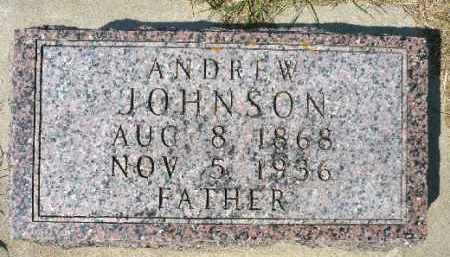 JOHNSON, ANDREW - Minnehaha County, South Dakota | ANDREW JOHNSON - South Dakota Gravestone Photos