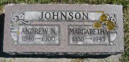 JOHNSON, MARGARETHA - Minnehaha County, South Dakota | MARGARETHA JOHNSON - South Dakota Gravestone Photos
