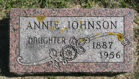 JOHNSON, ANNIE - Minnehaha County, South Dakota | ANNIE JOHNSON - South Dakota Gravestone Photos