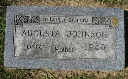 JOHNSON, AUGUSTA - Minnehaha County, South Dakota | AUGUSTA JOHNSON - South Dakota Gravestone Photos