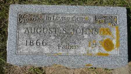 JOHNSON, AUGUST S. - Minnehaha County, South Dakota | AUGUST S. JOHNSON - South Dakota Gravestone Photos