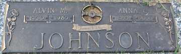 JOHNSON, ALVIN M. - Minnehaha County, South Dakota   ALVIN M. JOHNSON - South Dakota Gravestone Photos