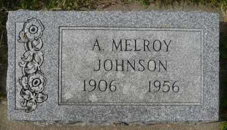 JOHNSON, A. MELROY - Minnehaha County, South Dakota | A. MELROY JOHNSON - South Dakota Gravestone Photos