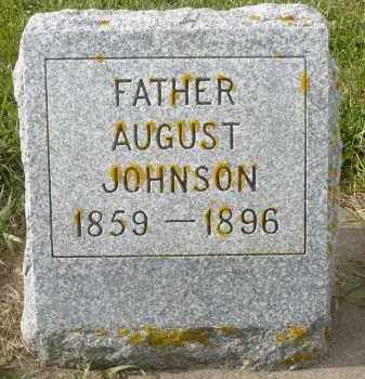 JOHNSON, AUGUST - Minnehaha County, South Dakota | AUGUST JOHNSON - South Dakota Gravestone Photos
