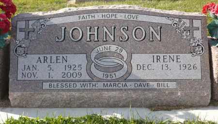 JOHNSON, IRENE - Minnehaha County, South Dakota   IRENE JOHNSON - South Dakota Gravestone Photos