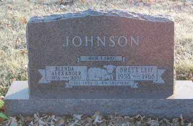 ALEXANDER JOHNSON, BLENDA - Minnehaha County, South Dakota | BLENDA ALEXANDER JOHNSON - South Dakota Gravestone Photos