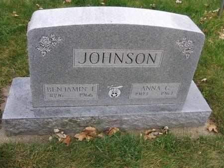 JOHNSON, BENJAMIN  F. - Minnehaha County, South Dakota | BENJAMIN  F. JOHNSON - South Dakota Gravestone Photos
