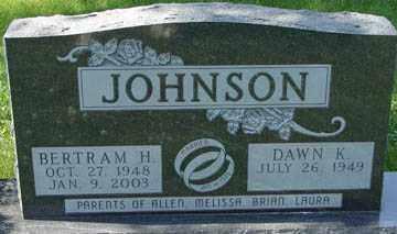 JOHNSON, DAWN K. - Minnehaha County, South Dakota | DAWN K. JOHNSON - South Dakota Gravestone Photos
