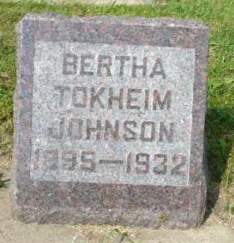 JOHNSON, BERTHA - Minnehaha County, South Dakota | BERTHA JOHNSON - South Dakota Gravestone Photos