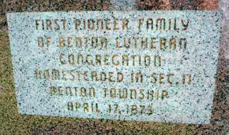 JOHNSON, HANNAH - Minnehaha County, South Dakota | HANNAH JOHNSON - South Dakota Gravestone Photos