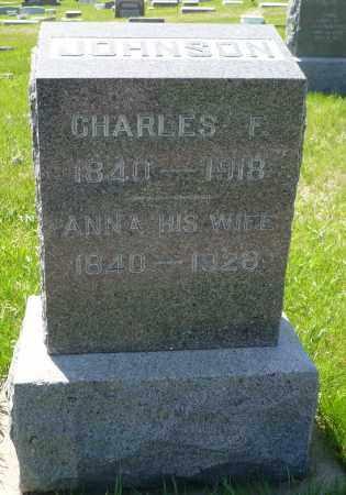 JOHNSON, CHARLES F. - Minnehaha County, South Dakota | CHARLES F. JOHNSON - South Dakota Gravestone Photos
