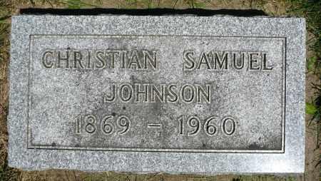 JOHNSON, CHRISTIAN SAMUEL - Minnehaha County, South Dakota | CHRISTIAN SAMUEL JOHNSON - South Dakota Gravestone Photos