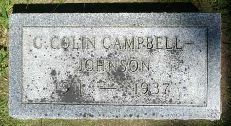 JOHNSON, CHRISTIAN COLIN CAMPBELL - Minnehaha County, South Dakota | CHRISTIAN COLIN CAMPBELL JOHNSON - South Dakota Gravestone Photos
