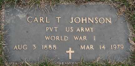 JOHNSON, CARL T. - Minnehaha County, South Dakota | CARL T. JOHNSON - South Dakota Gravestone Photos