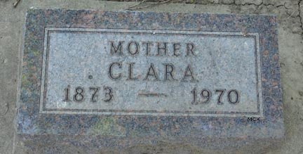 JOHNSON, CLARA - Minnehaha County, South Dakota | CLARA JOHNSON - South Dakota Gravestone Photos
