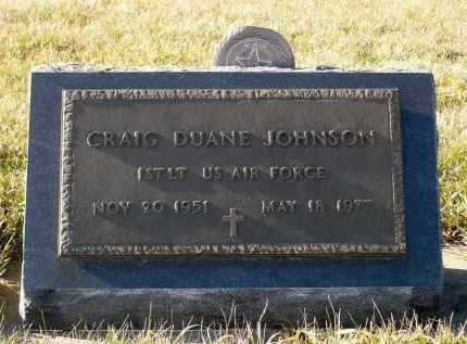 JOHNSON, CRAIG DUANE - Minnehaha County, South Dakota | CRAIG DUANE JOHNSON - South Dakota Gravestone Photos